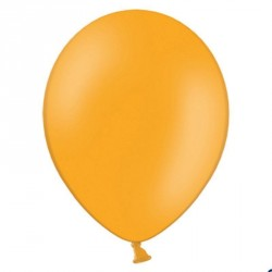 100 Ballons de baudruche orange 27 cm