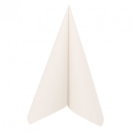 25 Serviettes haut de gamme effet tissu