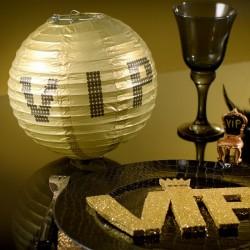 Lampion or thème VIP