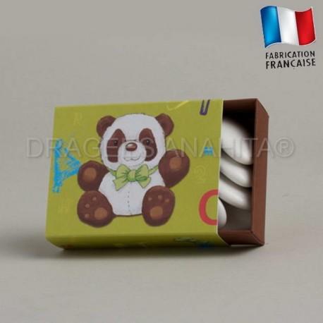 Fourreau à dragées thème panda