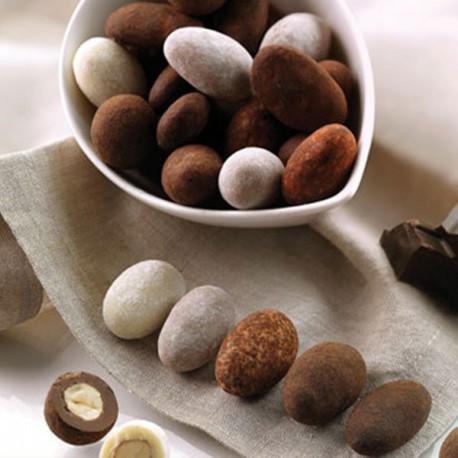 Dragées originales chocolat cappucino, tiramisu ou nougatine