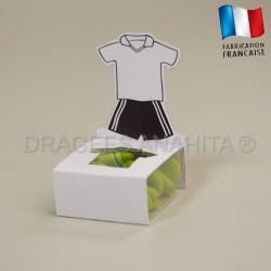 Cube à dragées maillot de foot