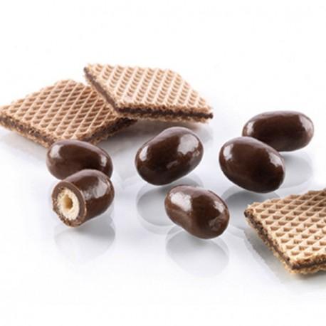 Gaufrette au chocolat au lait