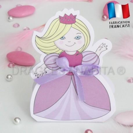 Ballotin à dragées petite princesse