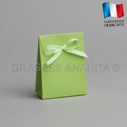 Pochon à dragées vert