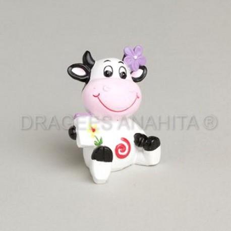Vache en céramique