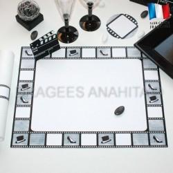 Set de table thème cinéma