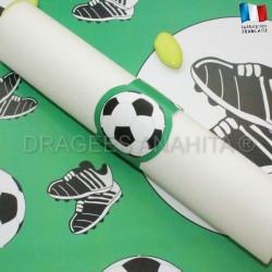Rond de serviette Thème foot