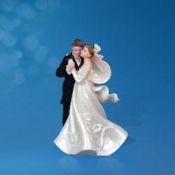 Figurine gâteau de mariage Valse