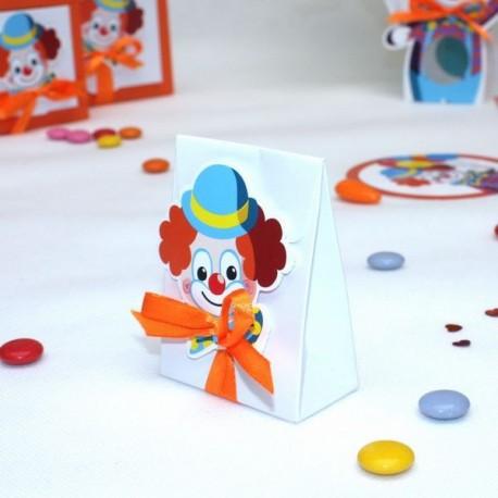 Pochon à dragées Clown