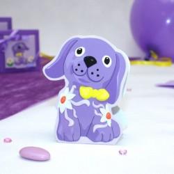 Contenant à dragées petit chien