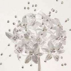 Fleur Perle Argent