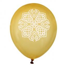 8 Ballons Oriental Or