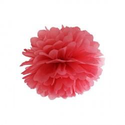Pompon rouge 25 cm