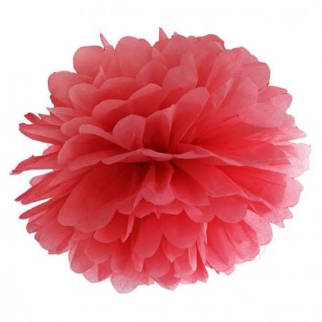 Pompon rouge 35 cm