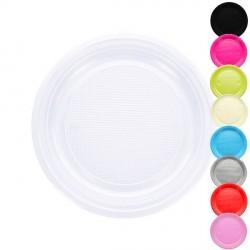 20 Assiettes plastique 22 cm