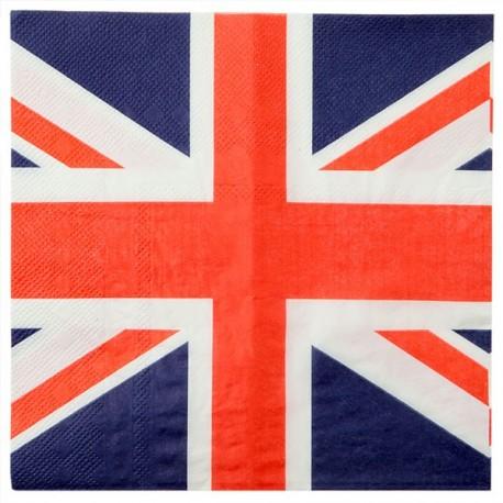 20 serviettes de table Angleterre