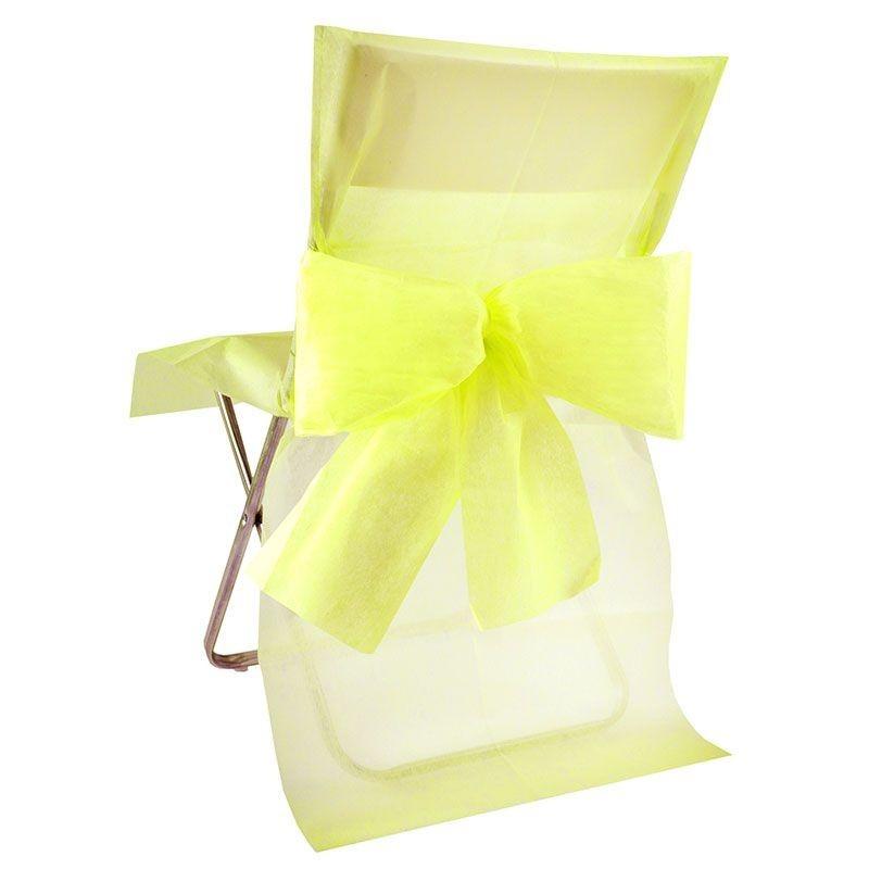Choisissez ces housses de chaises avec noeud pour votre - Noeuds de chaise mariage ...