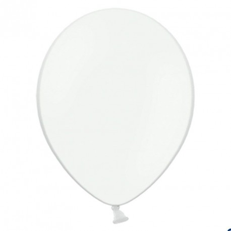 100 Ballons de baudruche blanc 27 cm