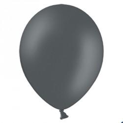 100 Ballons de baudruche gris foncé 27 cm