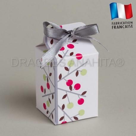 Cube à dragées thème  provençale