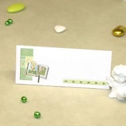 marque place communion Bible vert