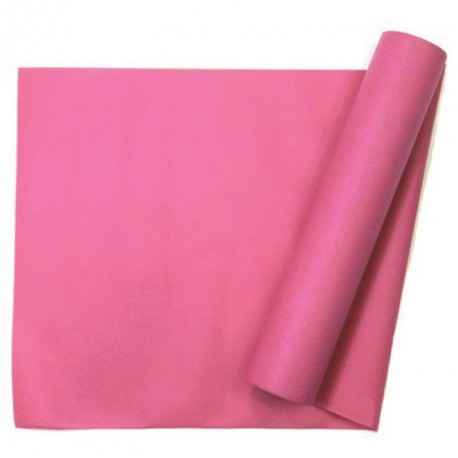 Chemin de table uni fuchsia