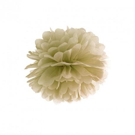 Pompon or 25 cm pas cher pour mariage