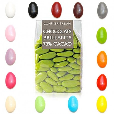 Dragées chocolat extra 73% cacao
