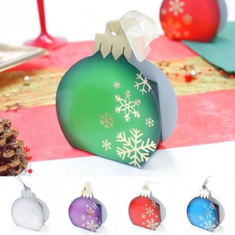 """Boule de Noël """"Flocon"""" à accrocher"""