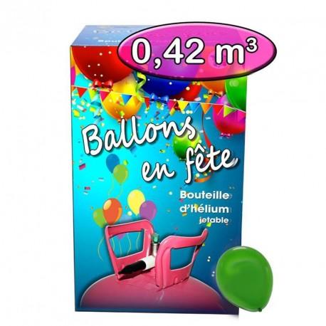 Bouteille hélium 0.42 m3