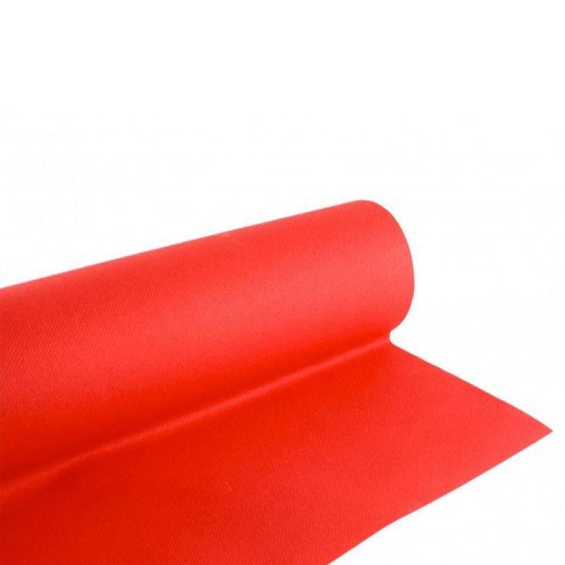 Nappe rouge jetable pas cher pour d coration de salle drag es anahita - Nappe de table rectangulaire pas cher ...