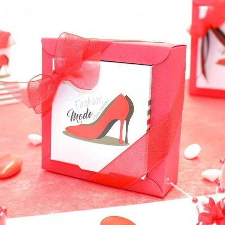 Boîte à dragées fashion mode