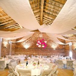 Tenture blanche pour mariage 100 m x 80 cm