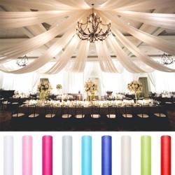 Tenture en organza pas cher pour mariage et décoration de salle