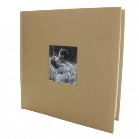 """Livre d'Or """"Coeur"""" de couleur ivoire"""