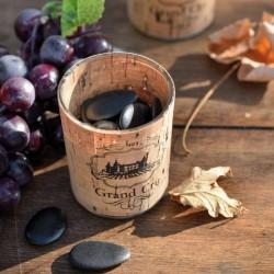 """Photophore viticole """"Grand Cru"""" pour plus de chaleur et de convivialité"""
