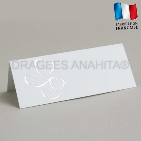Marque place mariage argent