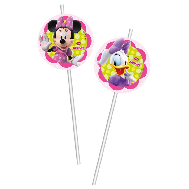6 pailles minnie et daisy pratiques et amusantes drag es - Minnie et daisy ...