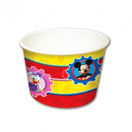 8 pot à glace Mickey très pratiques et amusants. Produits très résistants.