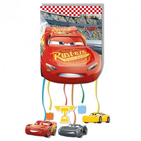 Pinata Cars pour une décoration et une animation vrombissante et pleine de surprises.