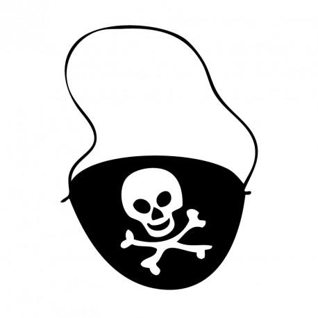 Cache Œil Pirate pour permettre aux enfants de peaufiner leur look d'aventurier de la mer.