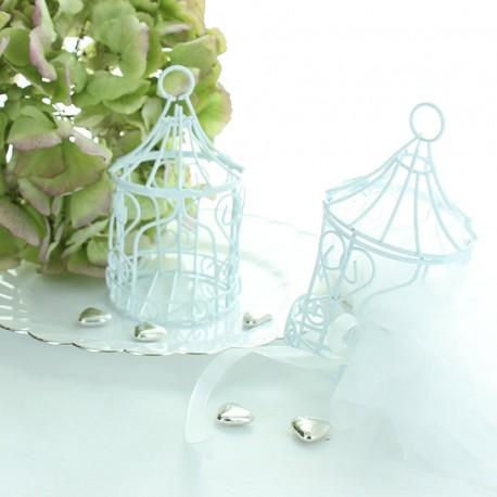 Mini tonelle blanche pour apporter une touche de féerie à vos tables.