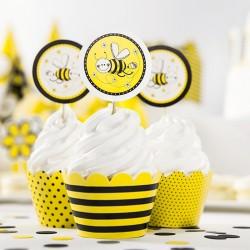 6 Pics pour Cupcakes Abeille pour décorer autrement les desserts.