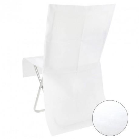 housse de chaises blanche jetable pas cher