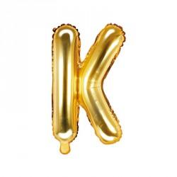 Ballon Lettre K Or 35cm