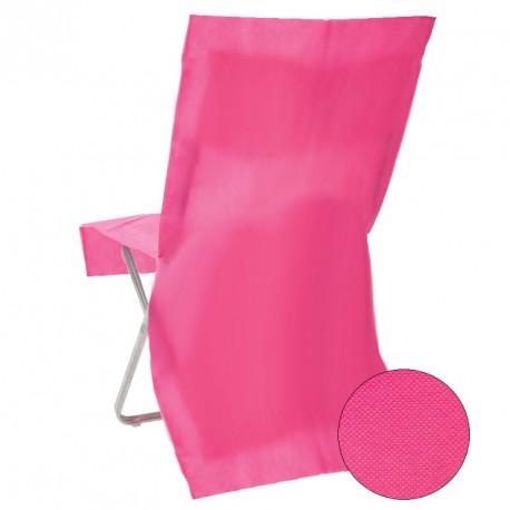 Housse de chaise jetable Fuchsia Opaque