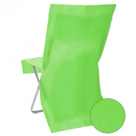 Housse de chaise jetable Verte Opaque