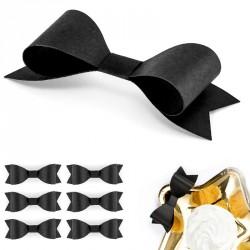 6 Noeuds noir pour décoration