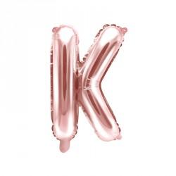 Ballon Lettre K Rose Gold 35cm